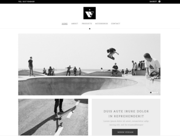 Skate Site Example BaseKit