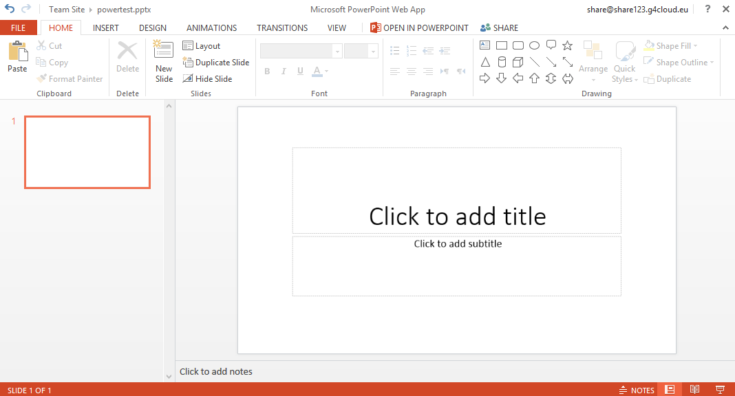 Resell PowerPoint web app - Become a LuxCloud partner