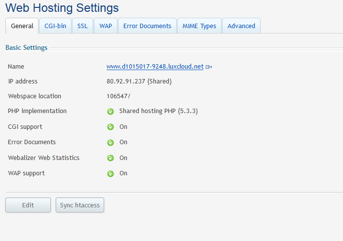 webhosting_settings