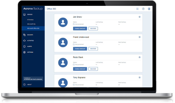 Become a LuxCloud Sales Partner and resell Acronis Office 365 Backup